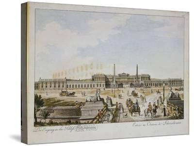 Schonbrunn Palace--Stretched Canvas Print