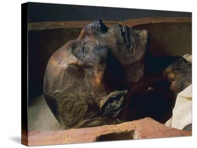 Mummy of Ramses II--Stretched Canvas Print