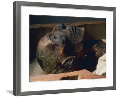 Mummy of Ramses II--Framed Giclee Print