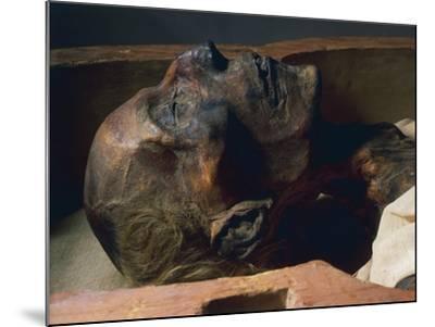Mummy of Ramses II--Mounted Giclee Print