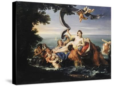 Triumph of Galatea-Francesco Trevisani-Stretched Canvas Print