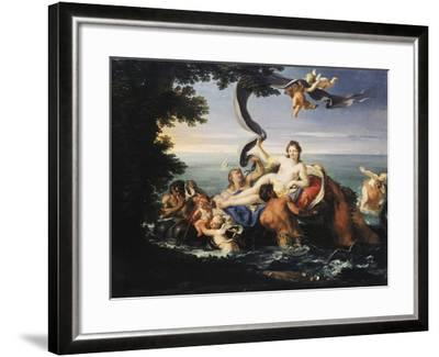 Triumph of Galatea-Francesco Trevisani-Framed Giclee Print