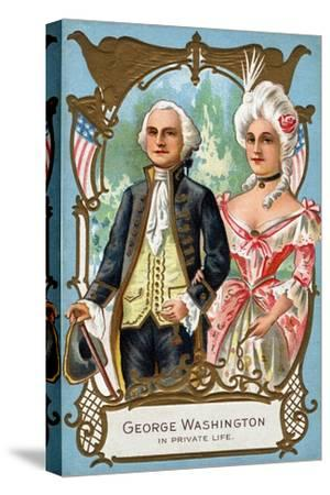 George Washington in Private Life, C.1912--Stretched Canvas Print