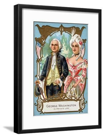 George Washington in Private Life, C.1912--Framed Giclee Print