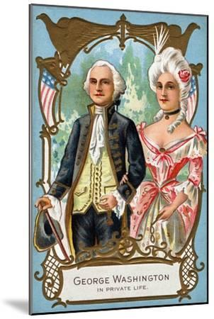 George Washington in Private Life, C.1912--Mounted Giclee Print