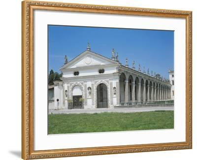 Portico of Barchessa--Framed Giclee Print