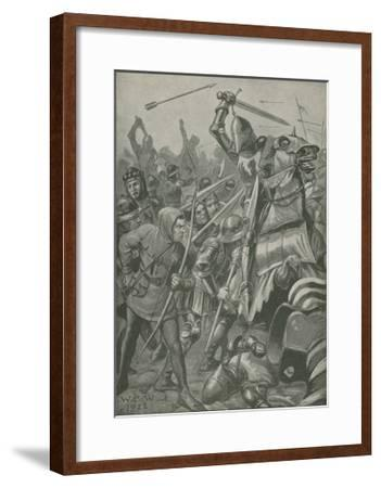 When English and French Were Not Firm Friends--Framed Giclee Print