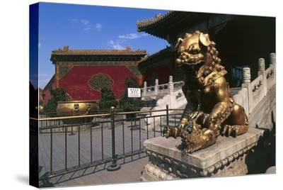 China, Beijing, Forbidden City--Stretched Canvas Print