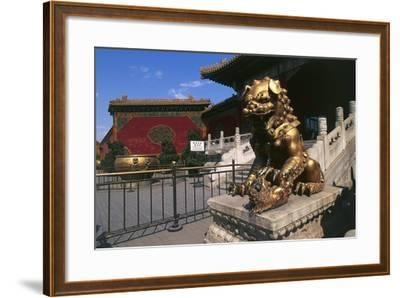 China, Beijing, Forbidden City--Framed Giclee Print