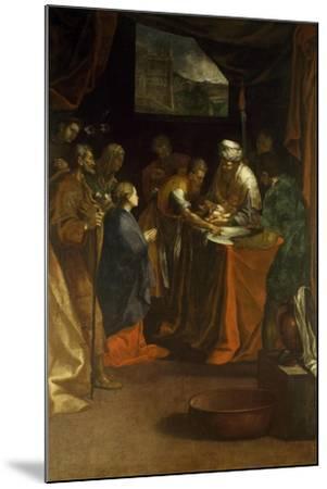 Circumcision-Federico Barocci-Mounted Giclee Print
