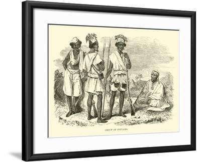 Group of Foulahs--Framed Giclee Print