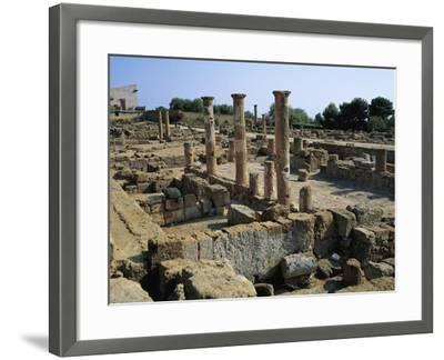 Hellenistic-Roman Quarter of Valley of Temples--Framed Photographic Print