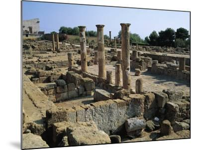 Hellenistic-Roman Quarter of Valley of Temples--Mounted Photographic Print