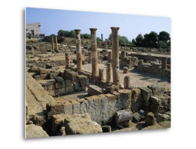 Hellenistic-Roman Quarter of Valley of Temples--Metal Print