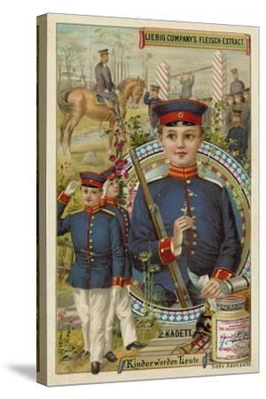 Cadet--Stretched Canvas Print