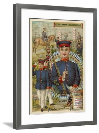 Cadet--Framed Giclee Print