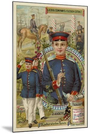 Cadet--Mounted Giclee Print