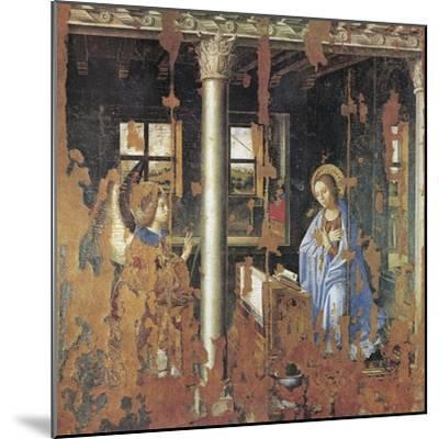 Annunciation-Antonello da Messina-Mounted Giclee Print