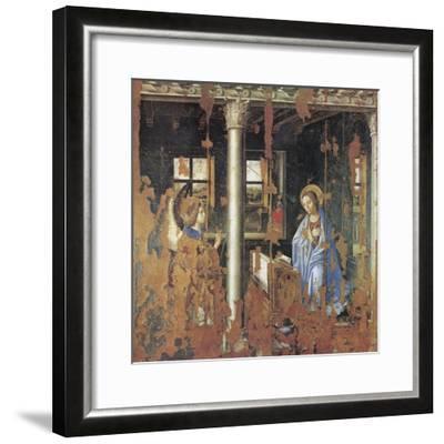 Annunciation-Antonello da Messina-Framed Giclee Print