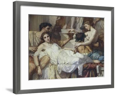 Romans of Decadence, 1847-Thomas Couture-Framed Giclee Print