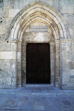 Entrance, St Anne's Church--Stretched Canvas Print