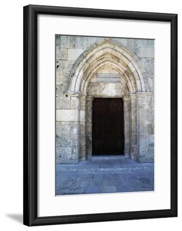 Entrance, St Anne's Church--Framed Giclee Print
