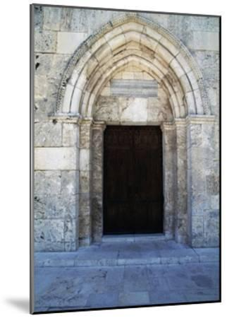 Entrance, St Anne's Church--Mounted Giclee Print