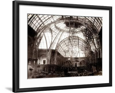 Grand Palais Building Works, 1897-1900--Framed Photographic Print