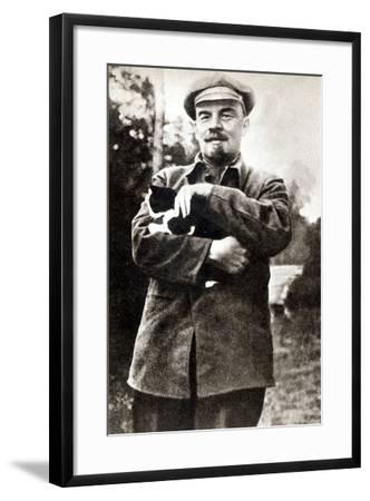 Vladimir Lenin--Framed Photographic Print
