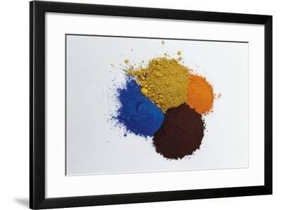 Pigments--Framed Photographic Print