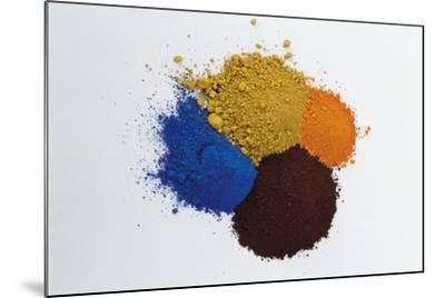 Pigments--Mounted Photographic Print