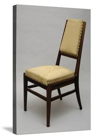 Chair, Circa 1920-Giacomo Cometti-Stretched Canvas Print