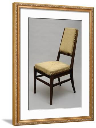 Chair, Circa 1920-Giacomo Cometti-Framed Giclee Print