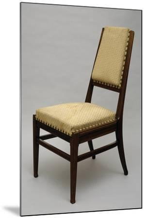 Chair, Circa 1920-Giacomo Cometti-Mounted Giclee Print