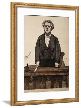 Portrait of Charles Thomas Floquet--Framed Giclee Print