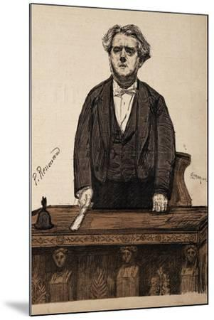 Portrait of Charles Thomas Floquet--Mounted Giclee Print