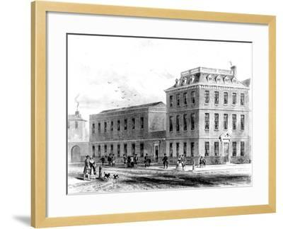 View of the East Side of Soho Square, 1850--Framed Giclee Print