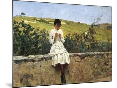 In Settignano Hills-Telemaco Signorini-Mounted Giclee Print