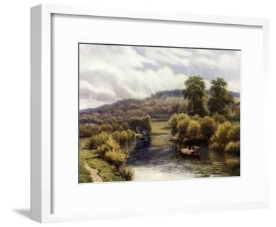 Streatley Reach-Alfred Robert Quinton-Framed Giclee Print