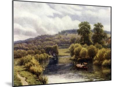 Streatley Reach-Alfred Robert Quinton-Mounted Giclee Print