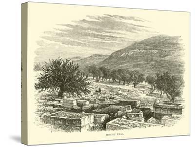 Mount Ebal--Stretched Canvas Print