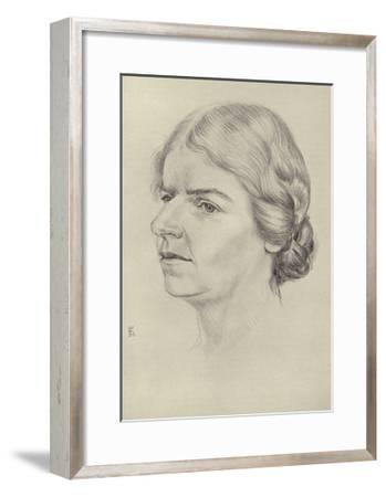 Naomi Mitchison, Scottish Novelist and Poet--Framed Giclee Print