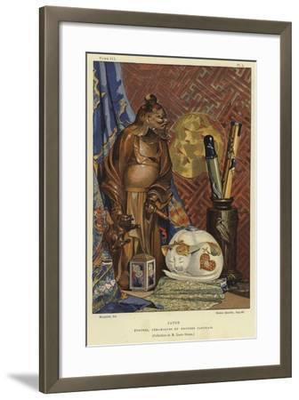 Japanese Fabrics, Ceramics and Bronzes--Framed Giclee Print