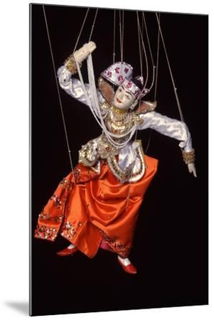 Burmese String Puppet--Mounted Photographic Print