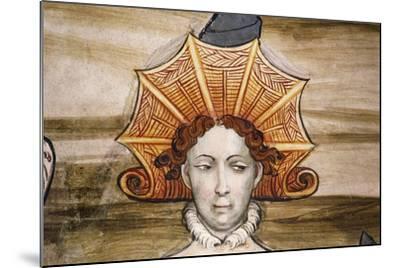 Frescoes of Baronial Hall--Mounted Giclee Print