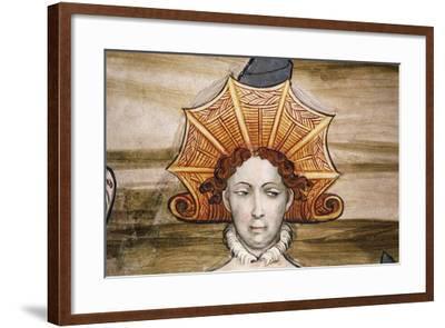 Frescoes of Baronial Hall--Framed Giclee Print