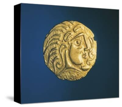 Gold Celtic Stater of Parisii or Quarisii--Stretched Canvas Print