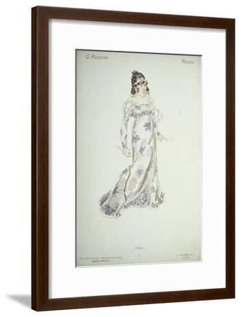 Costume Design in 'Tosca'-Adolfo Hohenstein-Framed Giclee Print