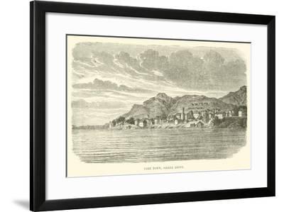 Free Town, Sierra Leone--Framed Giclee Print