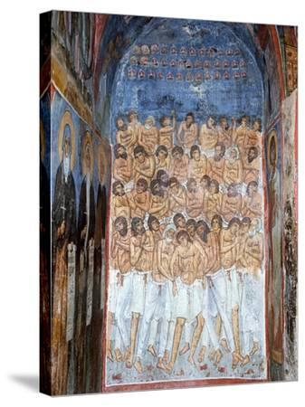 The Forty Martyrs of Sebaste--Stretched Canvas Print